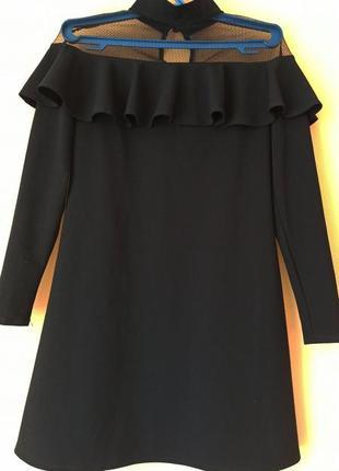 Платье с чокером olko