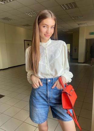Винтажная рубашка, блуза