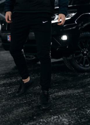 Штаны трикотаж черные