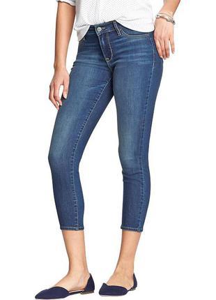 Укорочені штани , джинси  old navy rock star