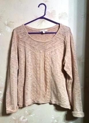 Женственный свитерок
