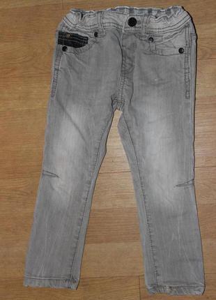 Стильні джинси скіни , завужені сірі zara