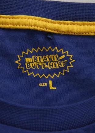 Футболка beavis & butthead лицензионная футболка mtv beavis & butthead3 фото
