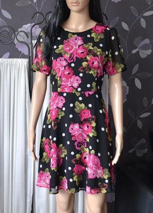 Чудове плаття в квіти tu 1+1 = 3