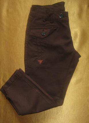 Стильные джинсы 3/4 от zuiki, италия, модная длина- р. 42-44 укр.