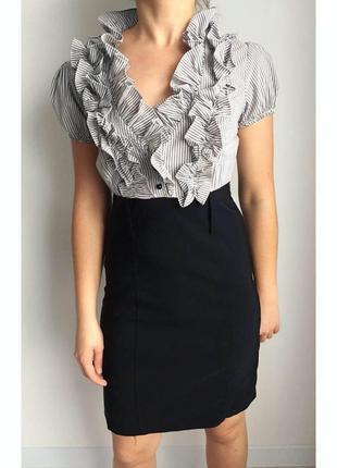 Платье, плаття класичне, платье с рюшами, платье на работу.