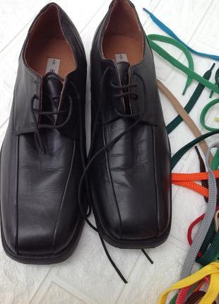 Туфли кожаные р.42  27,5см