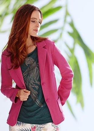 Sale текстурный пиджак tchibo, германия - р. 46-48 укр.5 фото
