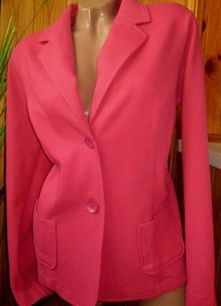 Sale текстурный пиджак tchibo, германия - р. 46-48 укр.7 фото