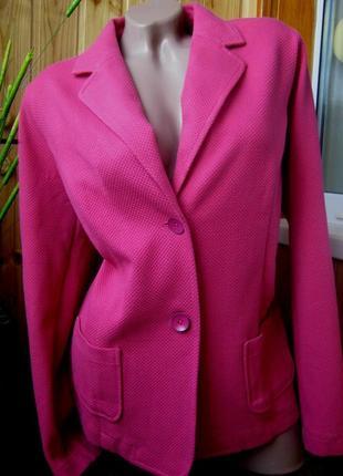 Sale текстурный пиджак tchibo, германия - р. 46-48 укр.9 фото