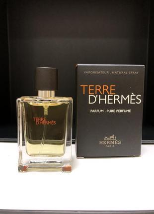 Мужская парфюмированная вода, парфюм, духи terre d'hermes миниатюра