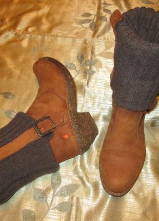 Art испания кожаные сапоги ботинки