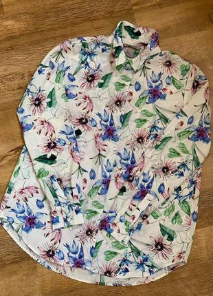 Рубашка блузка тм «h&m» р.38/s/m/44-461 фото