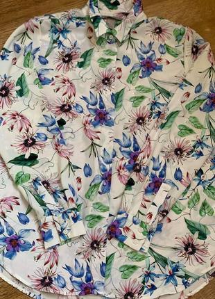 Рубашка блузка тм «h&m» р.38/s/m/44-465 фото