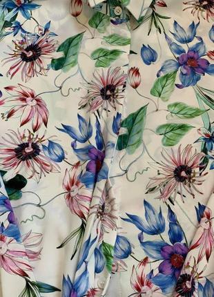 Рубашка блузка тм «h&m» р.38/s/m/44-467 фото