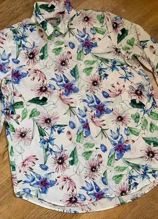 Рубашка блузка тм «h&m» р.38/s/m/44-468 фото