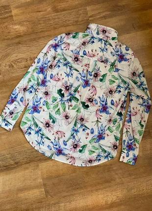 Рубашка блузка тм «h&m» р.38/s/m/44-469 фото