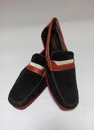 Мокасины (туфли) alberto torresi.брендове взуття stock