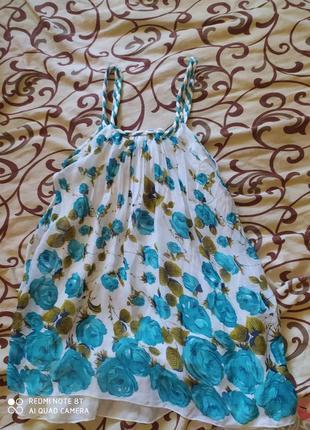 Платье сарафан короткий