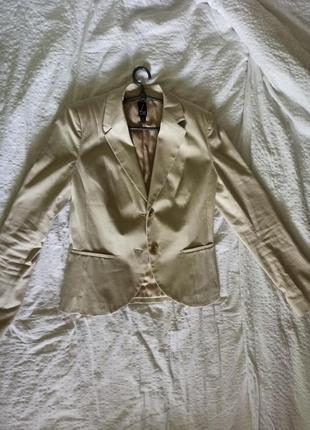 Пиджак  молочний  женский, жакет
