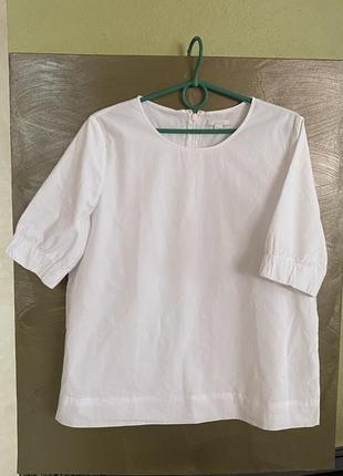 Изумительная блуза хлопок премиум размер м