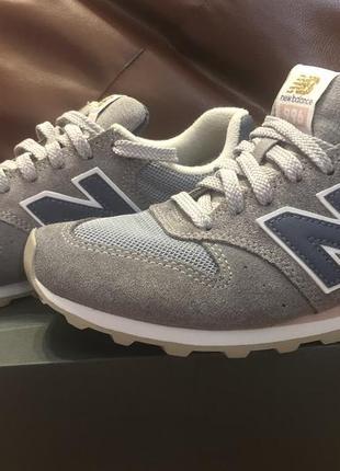New balance оригинальные спортивные кроссовки us 7 37,5 24 см