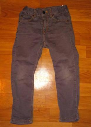 Джинсы штаны брюки мега крутые унисекс h&m 3 -5 лет 104 -116 см