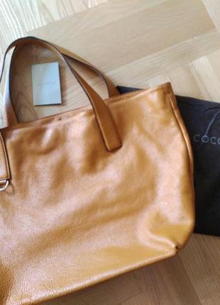 Большая сумка шопер coccinelle3 фото
