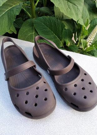 Женские crocs w9 39 размер