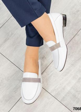 Туфли - лоферы натуральная кожа