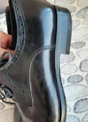 Шикарные кожаные классические туфли vero cuoio2 фото