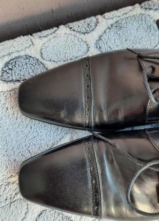 Шикарные кожаные классические туфли vero cuoio9 фото