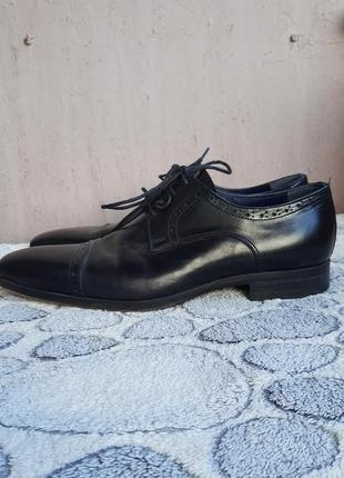 Шикарные кожаные классические туфли vero cuoio10 фото