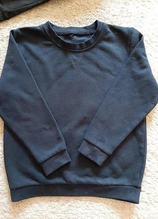 Свитшоот свитер для мальчика девочки 110 116