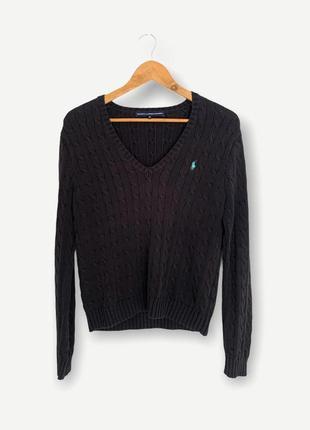 Свитер светр в'язаний polo ralph lauren оригинал