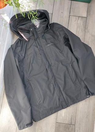 Мембранная фирменная куртка quechua