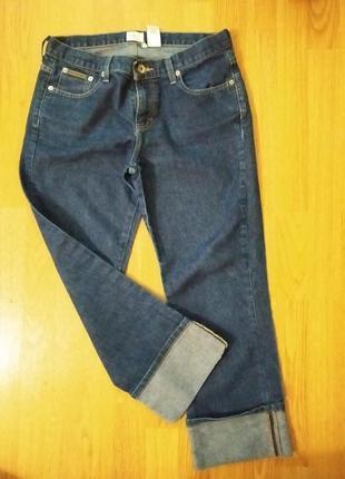 Акция до 20.06!фирменные джинсы с подворотами calvin klein