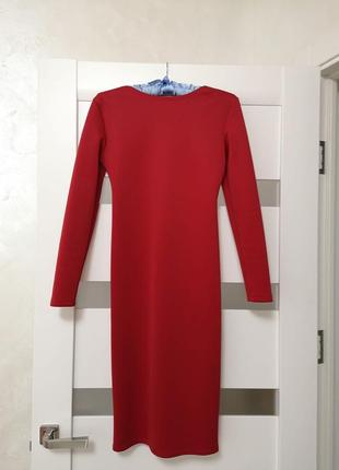Классическое платье миди