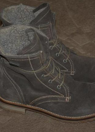 Ботинки tamaris 38 eur разм