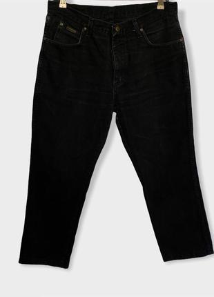 Чёрные джинсы wrangler оригинал