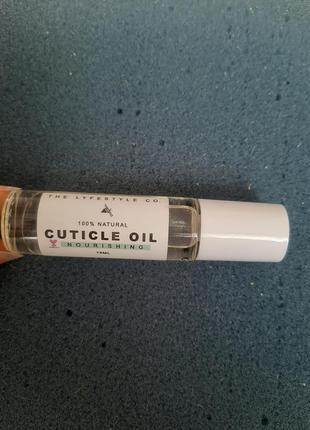 Масло для кутикулы / олія для кутикули the lyfestyle co 100% natural cuticle oil