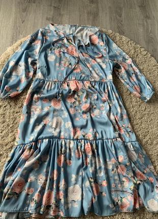 Шовкова сукня для літа