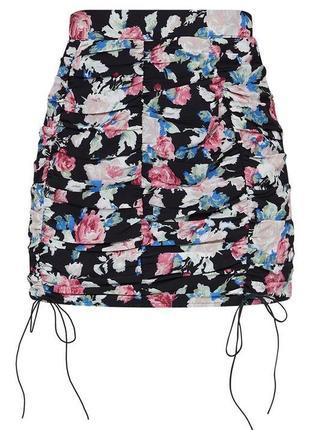 Юбка plt/юбка со стяжками/трендовая юбка