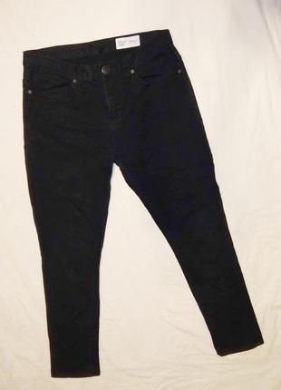 Джинсы штаны зауженные по бирке размер 30