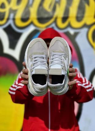 Кроссовки adidas nite jogger белые женские кроссовки адидас найтджогер2 фото