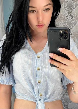 Блуза с красивыми плечами