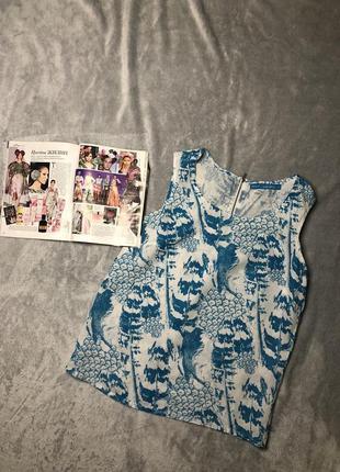 Льняная блуза next