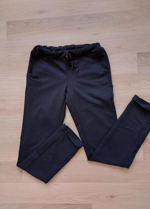 Чёрные спортивные штаны xs-s