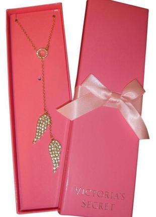 Шикарное ожерелье с крылышками victoria's secret