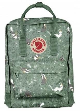 Городской рюкзак fjallraven kanken classic art 16 л green fable зеленый